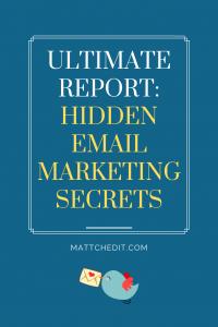 Hidden Email Marketing Secrets