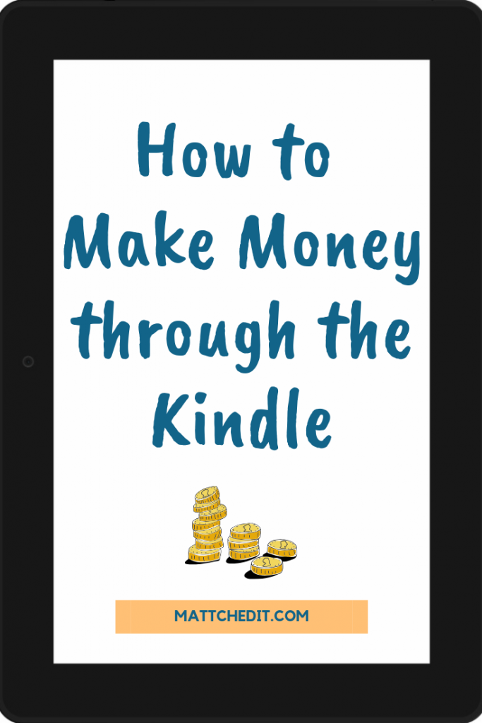 How to Make Money through the Kindle