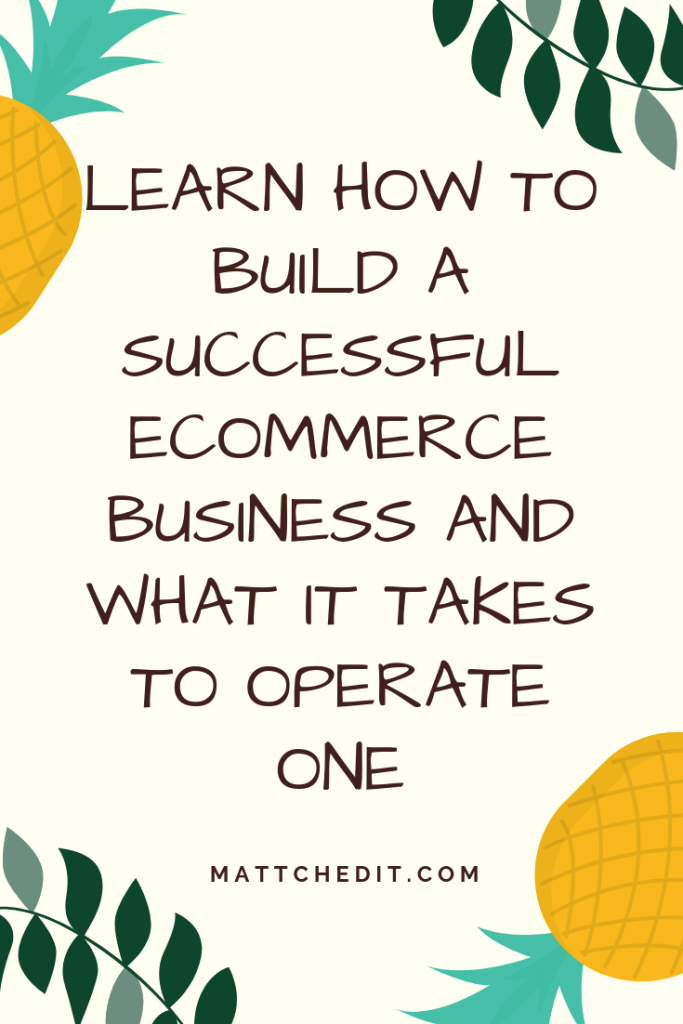 Build a Successful eCommerce Business